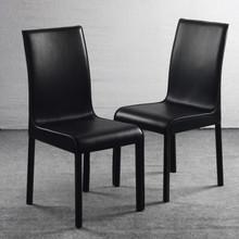 简约时尚现代欧式客厅米白色餐桌椅图片