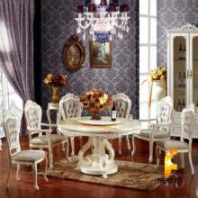 供应极鼎家具田园欧式法式奢华雕花餐椅