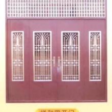 供应常用不锈钢门 常用防盗门钢质门不锈钢门山西太原图片