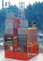 建筑施工人货电梯图片