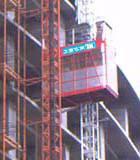建楼用人货电梯图片
