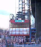 南方牌施工电梯图片