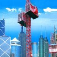 建筑升降机图片