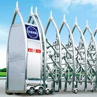 供应用于赤城县、崇礼的电动伸缩门安装报价批发