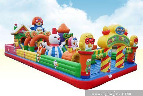 河南郑州儿童跳跳床儿童大型充气玩具淘气包生产供应