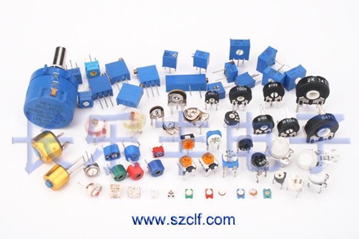 供应可调电阻可调电位器微调电位器