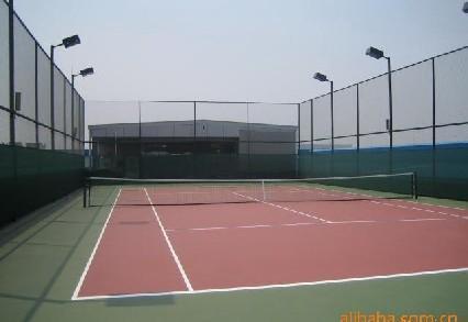 网球场地_网球场地示意图