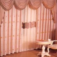 布艺窗帘遮光帘图片