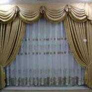 布艺加工窗帘定做窗帘图片