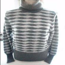 批发 时尚山羊绒开衫 高档羊绒衫 高领针织衫 低价女士绒衫