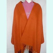 供应女士新款精纺羊绒披肩丝绒披肩