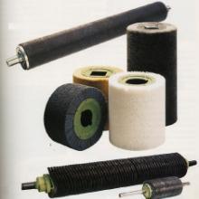 工业毛刷辊  毛刷辊滚筒刷  猪鬃抛光尼龙磨料丝毛刷辊