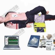 电脑心肺复苏AED除颤组合模拟人图片