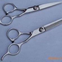 沙宣VS进口钢制牙剪理发剪刀