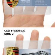 深圳做PVC卡透明卡透明磨砂卡等图片