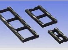 供应24PIN圆孔IC插座/8PIN圆孔IC插座/48P圆孔IC插座