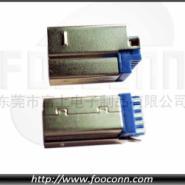 USB短体焊线公头图片