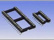 供应24P圆孔IC座/24Pin芯片插座/集成电路底座/IC圆孔座