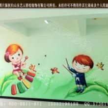 供应河南新乡市幼儿园夏季墙体彩绘 幼儿园夏季墙体彩绘图图片