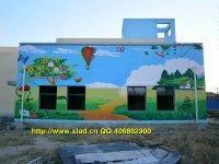 幼儿园墙体彩绘专业制作-北京永恒新蕾批发