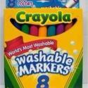 供应绘儿乐8色可水洗水彩笔