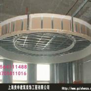青浦石膏板吊顶/浦东厂房装修图片