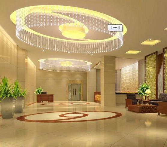 供应酒店石膏板吊顶 酒店装修效果图高清图片