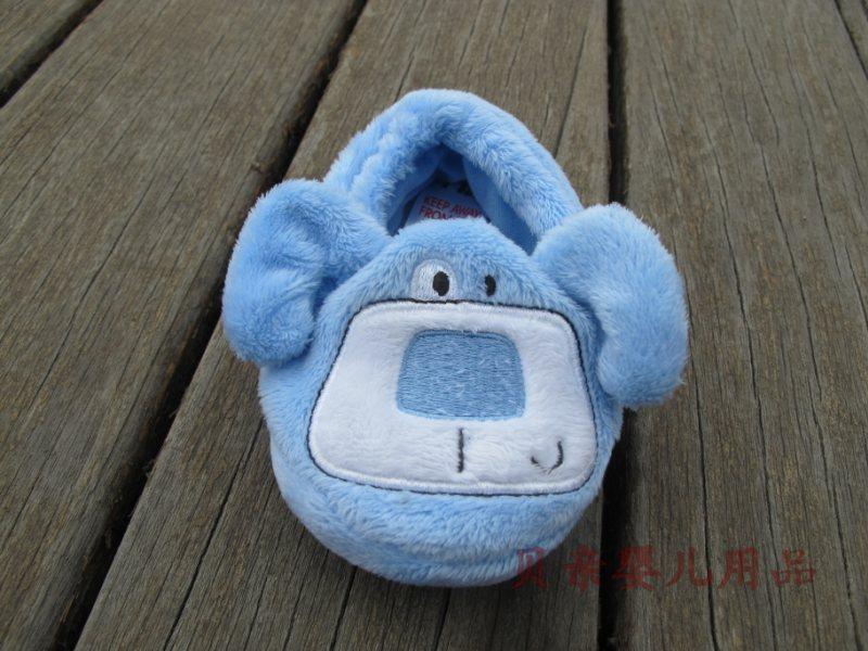 供应智慧蓝小猴婴儿小鞋子
