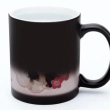 供应合肥diy魔术变色杯定制情侣杯子定做印自己的照片创意礼物个性礼品批发