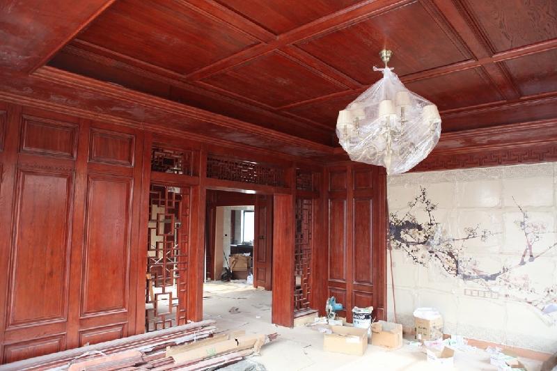 上海护墙板生产供应原木护墙板价格