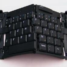 供应深圳无线三折四叠折叠键盘供应图片