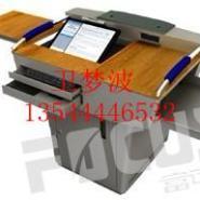 钢木讲台-钢制讲台-广东讲台-木制图片