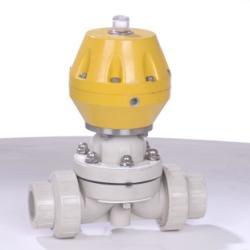 供應PPH雙由令氣動隔膜閥、耐酸耐碱氣動隔膜閥、活接式氣動隔膜閥