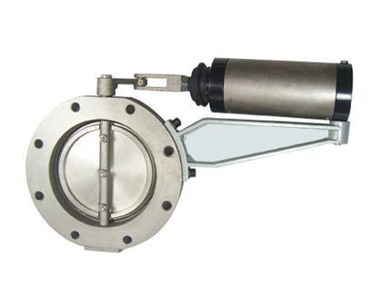 供应泡塑机蒸汽气动蝶阀图片