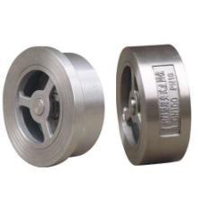 供应H71不锈钢对夹式止回阀、DN40锅炉止回阀、DN50对夹止回阀图片