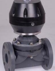 供應德國蓋米法蘭氣動隔膜閥、氣動UPVC法蘭隔膜閥、防腐氣動隔膜閥