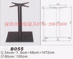 西餐桌腿快餐铸铁脚深圳金属餐桌脚图片
