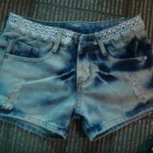 供应精品牛仔时尚短裤