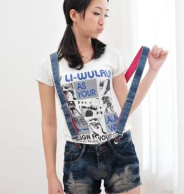 日系背带裤图片/日系背带裤样板图 (1)