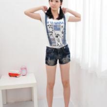 供应2012新牛仔背带裤短裤