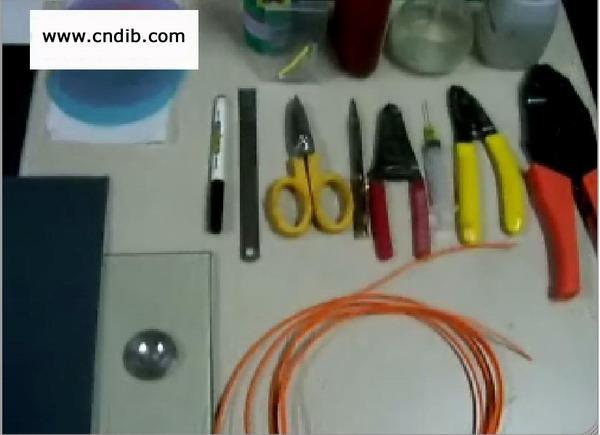 供应光纤连接器快速研磨工具套