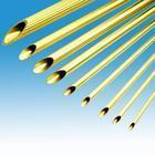 供应H62薄壁无缝黄铜管 抗氧化H59黄铜毛细管 H68耐高温黄铜管