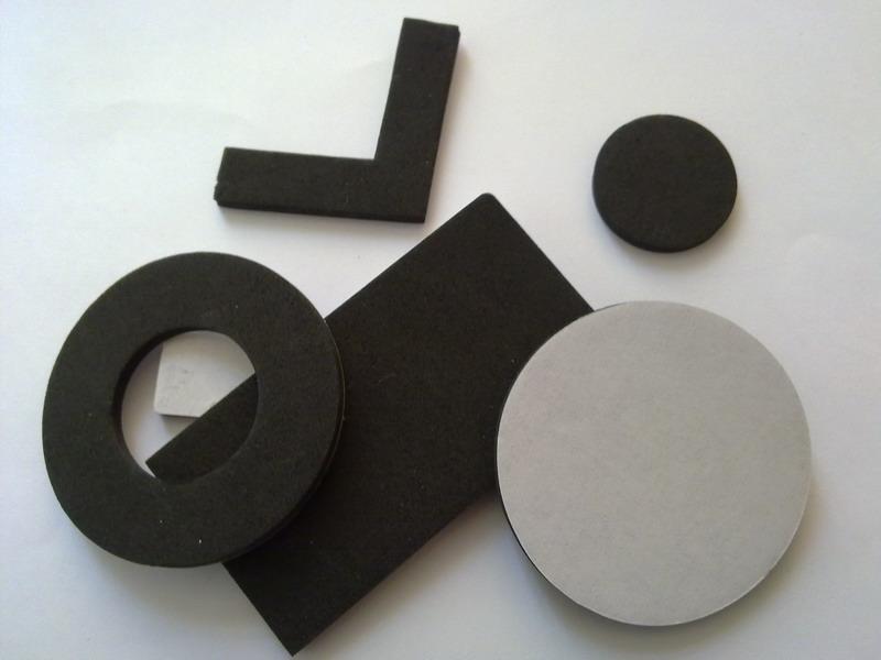 精密模切冲型EVA脚垫泡棉垫3M胶垫销售