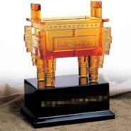 雅菲琉璃工厂生产琉璃工艺品琉璃鼎图片