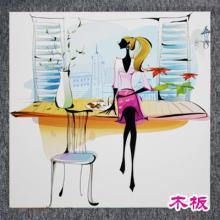 广州木板装饰画彩印加工/家具板材印花加工