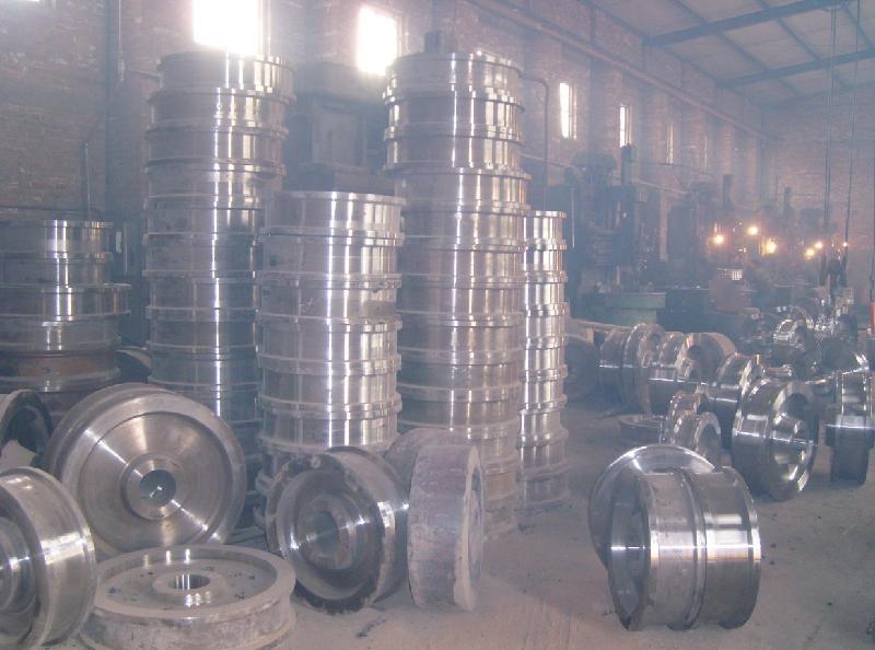 供应山西起重机车轮锻件供货商/山西起重机车轮锻件