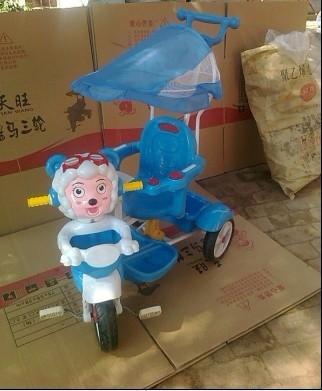 儿童/儿童三轮车图片 儿童三轮车样板图 儿童三轮车手推车脚踏