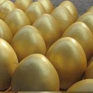 哈尔滨可砸石膏金蛋批发厂家图片