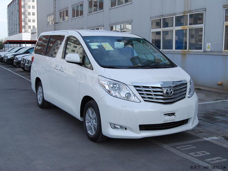 租车到深圳看佛事用品展企业 2012款丰田埃尔法白色现车优