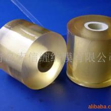 供应缠绕膜 电线膜  环保SGS检测  透明环保自粘性好 缠PVC包装膜  PVC无色透明图片